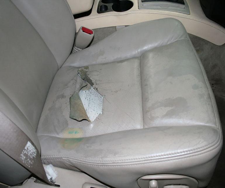 Реставрация кожаных сидений автомобиля своими руками 64